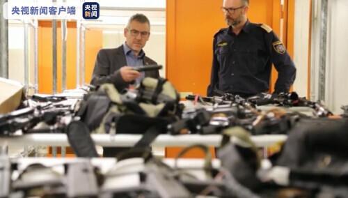 奥地利居民家藏170种武器和大量弹药 弹药够4000名警察用一年