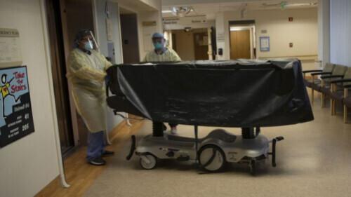 美国网友疯传医院一张黑暗震撼照